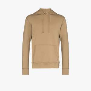 Reigning Champ Mens Green Terry Cotton Hoodie