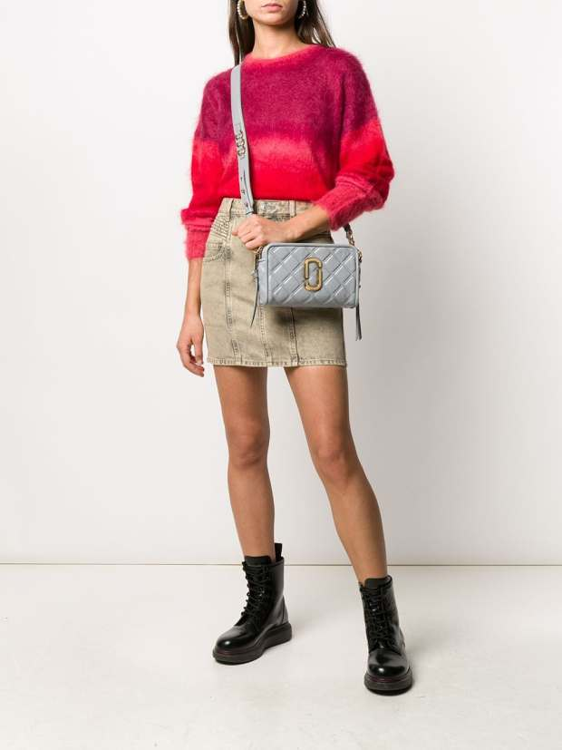 Image 2 of Marc Jacobs The Quilted Softshot bag