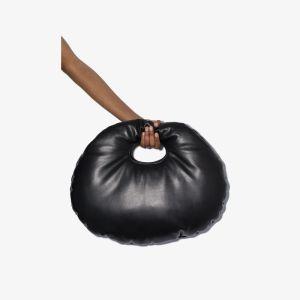 A.w.a.k.e. Mode Womens Black Lucy Large Clutch Bag