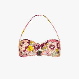 Dodo Bar Or Womens Multicolour Kayla Floral Print Bikini Top