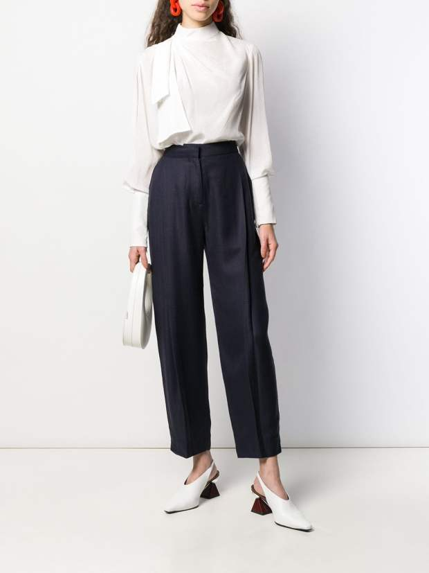 Image 2 of Victoria Victoria Beckham tapered trousers