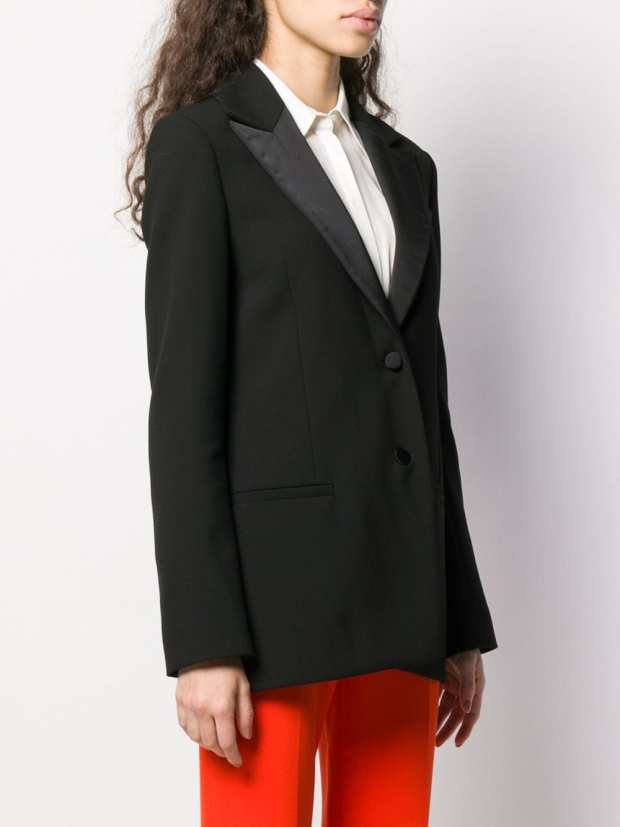 Image 3 of Victoria Victoria Beckham fitted tuxedo jacket