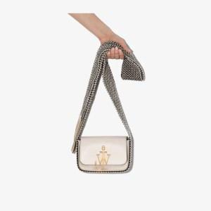 Jw Anderson Womens Neutrals Jw Anchor Box Bag