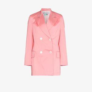 Bernadette Womens Pink Emma Satin Blazer
