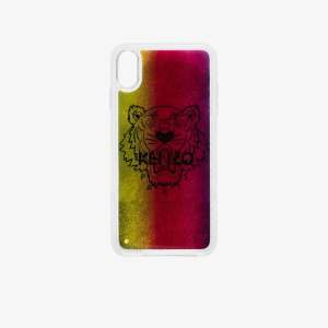 Kenzo Mens Yellow Multicoloured Glitter Tiger Iphone Xs Max Case