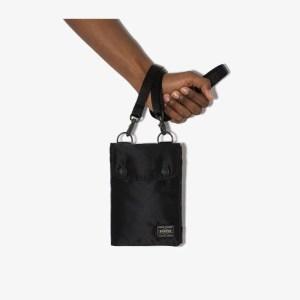 Porter-yoshida & Co Mens Black Travel Case Pouch Bag