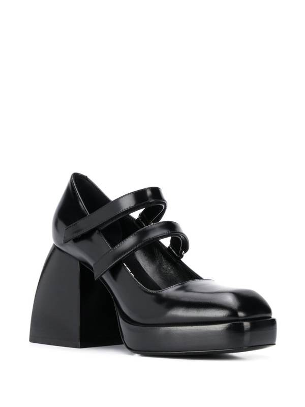 Image 2 of Nodaleto Babies Bulla chunky-heel pumps