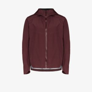 Veilance Red Arris Hooded Jacket