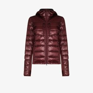 Canada Goose Womens Red Hybridge Lite Quilted Down Jacket