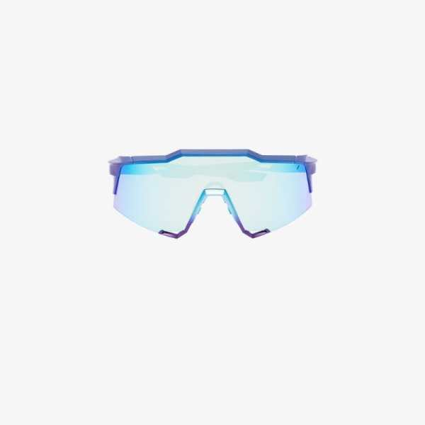 100% Eyewear Blue Speedcraft cycling performance sunglasses