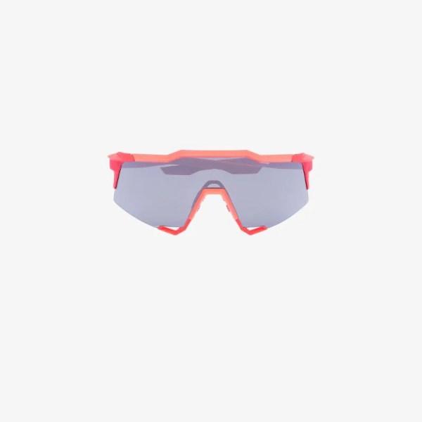 100% Eyewear Mens Black 100% Speedcraft Lrg Sung Red Blk