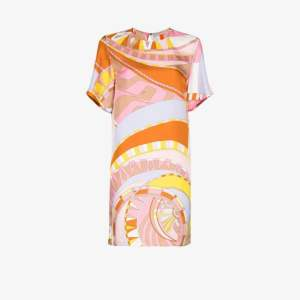 Emilio Pucci Womens Multicolour Wally Print Shift Dress