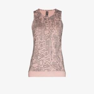 Adidas By Stella Mccartney Womens Pink Primeblue Training Tank Top