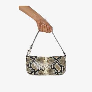 By Far Womens Brown Rachel Snake Print Two-way Bag