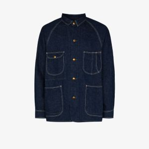Orslow Mens Blue '50s Denim Coverall Jacket