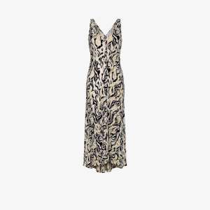 Paco Rabanne Womens Multicolour Printed Maxi Dress