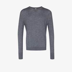 Eleventy Mens Grey Wool Sweater
