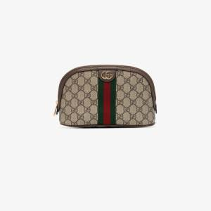 Gucci Womens Neutrals Large Ophidia Vanity Bag