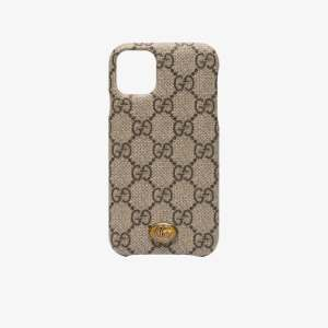 Gucci Womens Brown Ophidia Iphone 11 Case