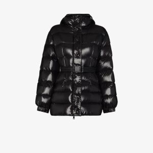 Moncler Womens Black Ilur Puffer Jacket