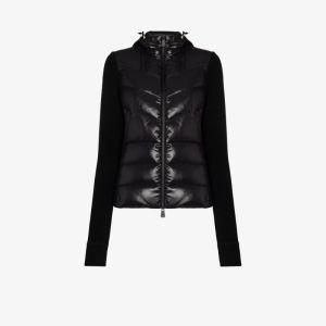 Moncler Grenoble Womens Black Slimline Ski Puffer Jacket