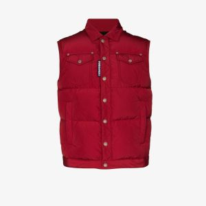 Dsquared2 Mens Padded Down Gilet