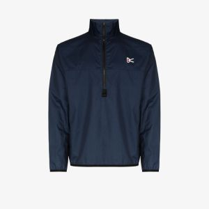 District Vision Mens Blue Theo Shell Performance Jacket