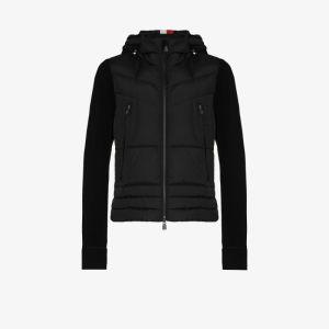 Moncler Grenoble Mens Black Down Padded Jacket