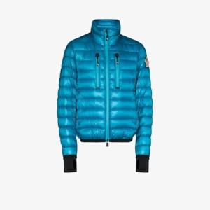 Moncler Grenoble Mens Blue Down Padded Ski Jacket