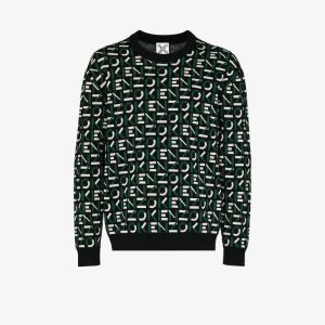 Kenzo Mens Black Sport Logo Sweater