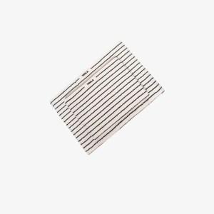 Tekla Womens Neutrals Neutral Striped Cotton Towel Set