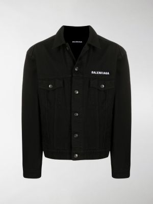 Balenciaga Crew logo denim jacket