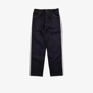Visvim Mens Blue X F.i.l. Indigo Camping Trading Post Hakama Jeans