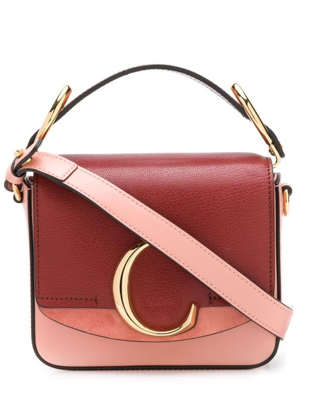 Image 1 of Chloé mini Chloé C crossbody bag