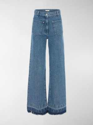 JW Anderson high-waist flared jeans
