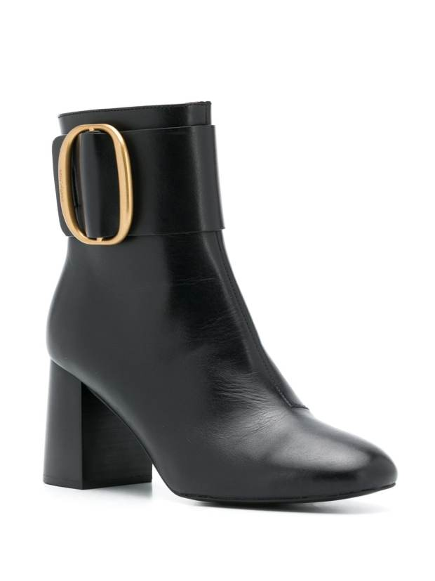 Image 2 of See by Chloé block heel leather boots