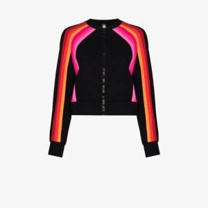 No Ka' Oi Womens Black Sunlight Track Jacket