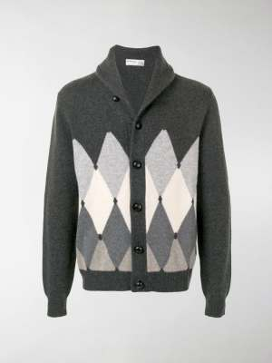 Ballantyne argyle-knit cardigan