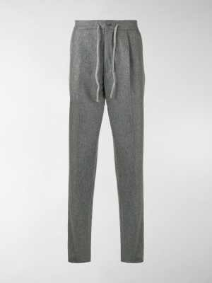 Incotex drawstring waist trousers