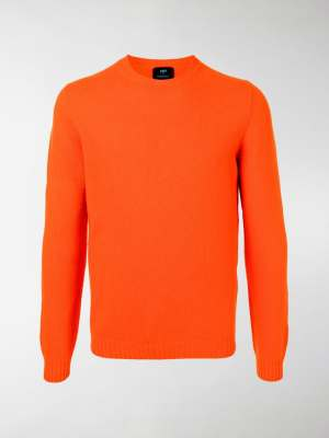 MP Massimo Piombo crew-neck knitted jumper