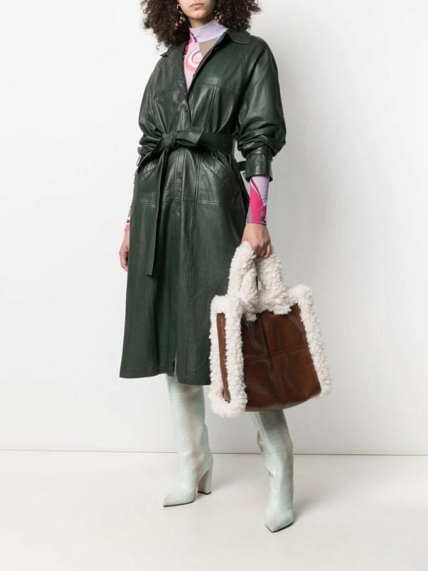 STAND STUDIO Lolita faux-leather tote bag