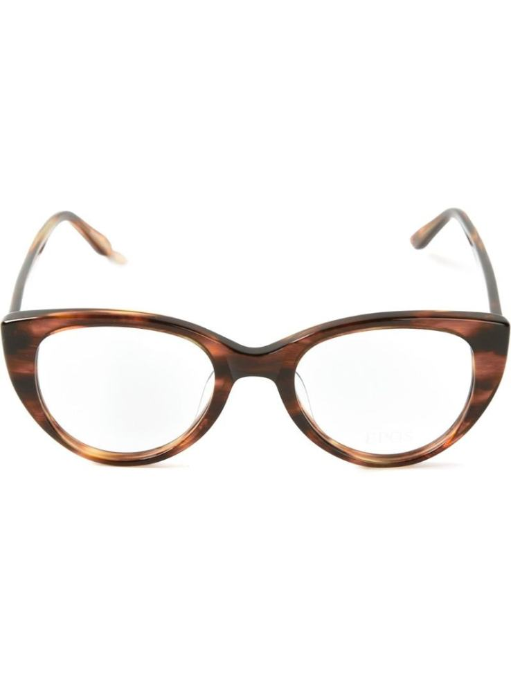 Tonal brown Demetra glasses from Epos