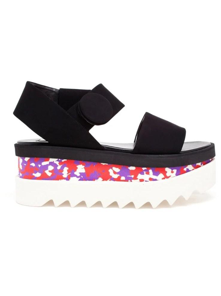 STELLA MCCARTNEY Cornelia flatform sandals
