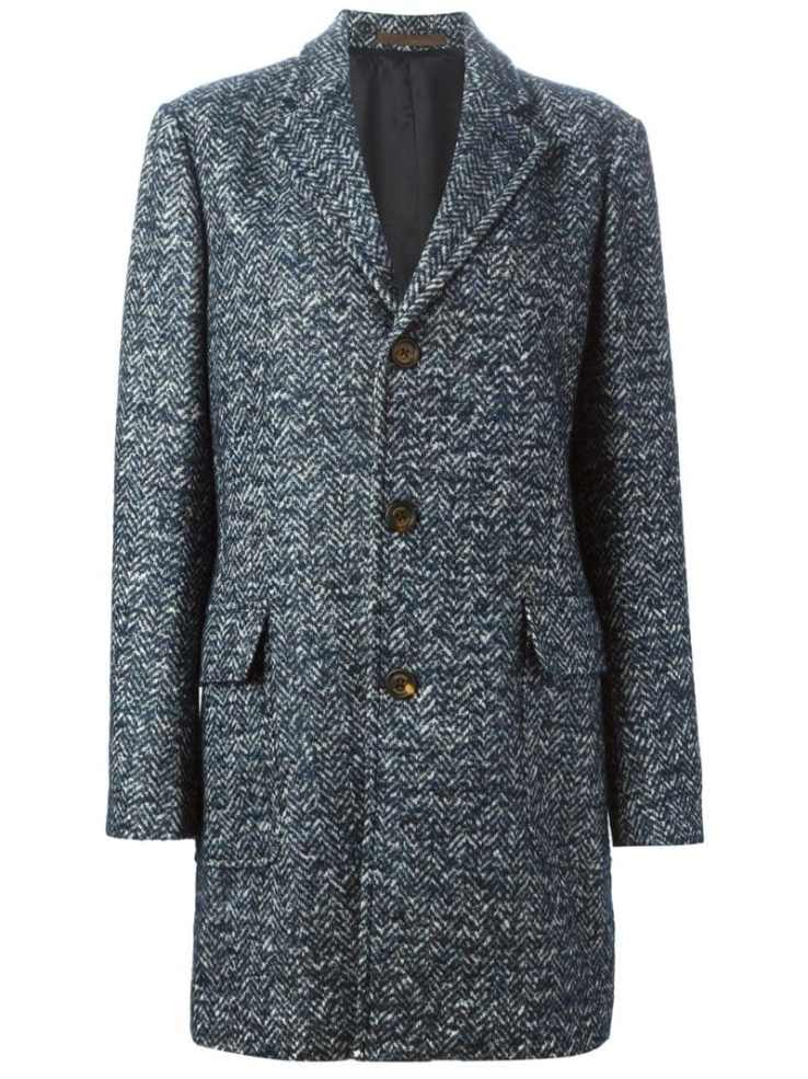 ELEVENTY tweed coat