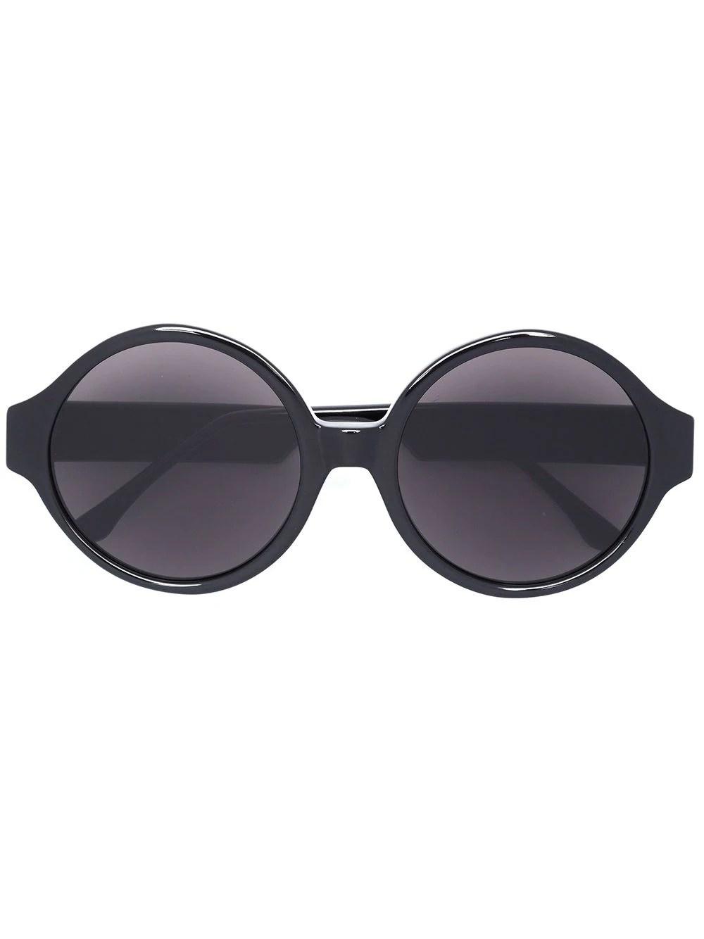 Vera Wang oversized round sunglasses