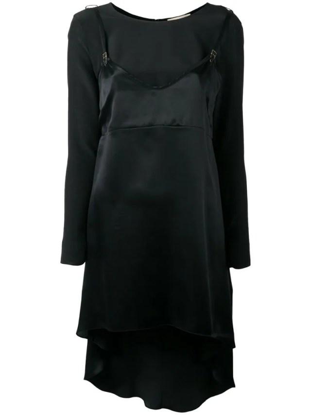 Murmur Long Slip Overlay Blouse, $307