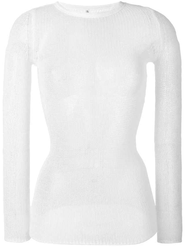 Cashmere Sheer Top, $314