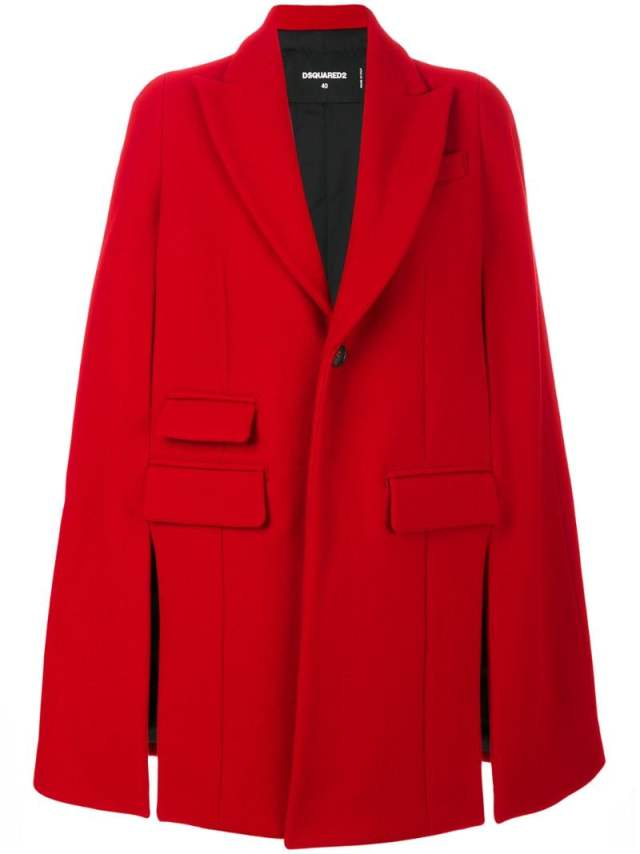 Dsquared2 - cape coat , $1680