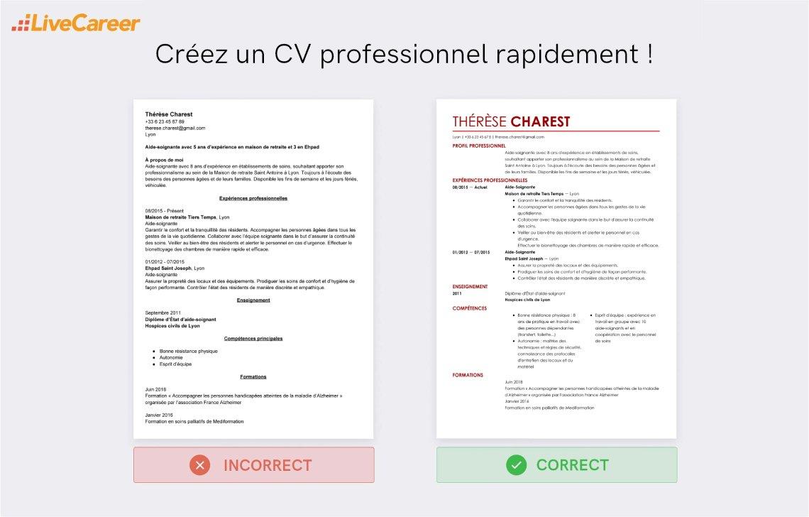 Competences Sur Le Cv Liste De 60 Competences Pro