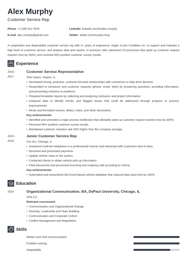 How to List Relevant Coursework on a Resume: Tips & Examples